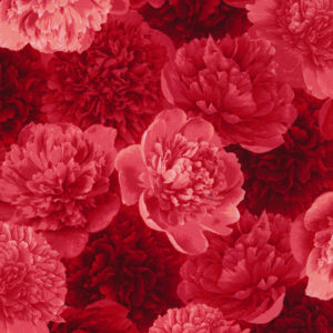 Carina Packed Peonies Fabric