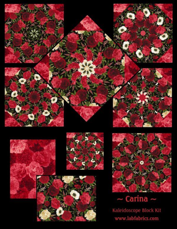 Carina Kaleidoscope Pre Cut Quilt Kit