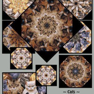 Cats Kaleidoscope Kit