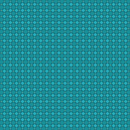 Checkerboard Teal Fabric