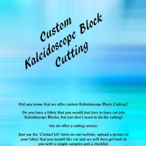 Custom Cutting