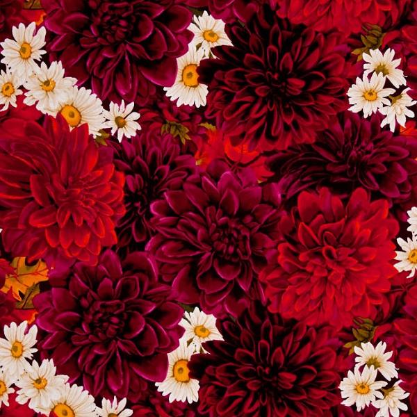 Dahlia Fabric