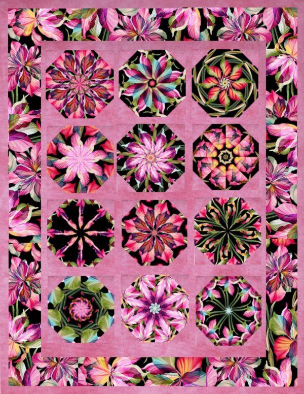 Floral Fantasia B Quilt
