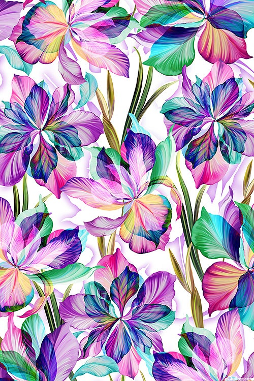 Floral Fantasia Purple