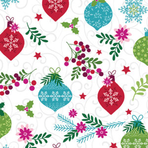 Ornament Toss Fabric