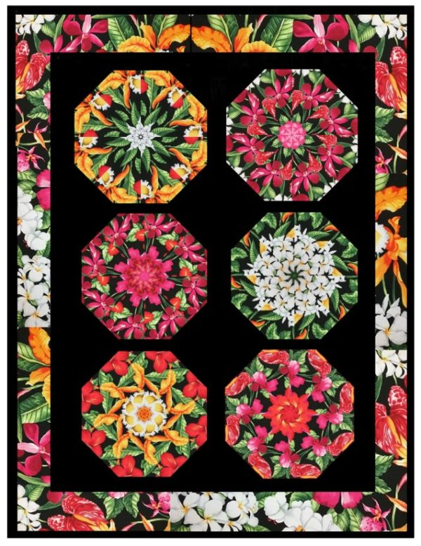 Paradise Kaleidoscope Quilt Kit