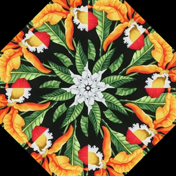Paradise Kaleidoscope Block
