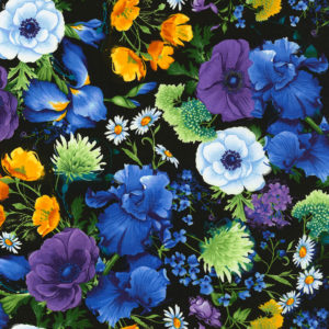 Reverie Multi Floral Fabric
