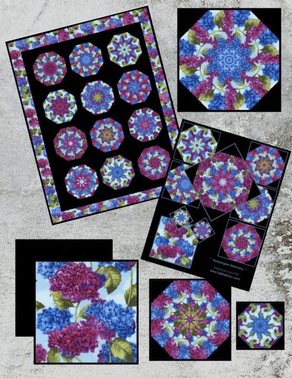 Hydrangea Harmony Collage