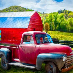 Truck Barn Panel