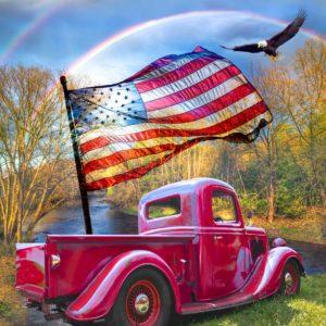Truck Flag Panel