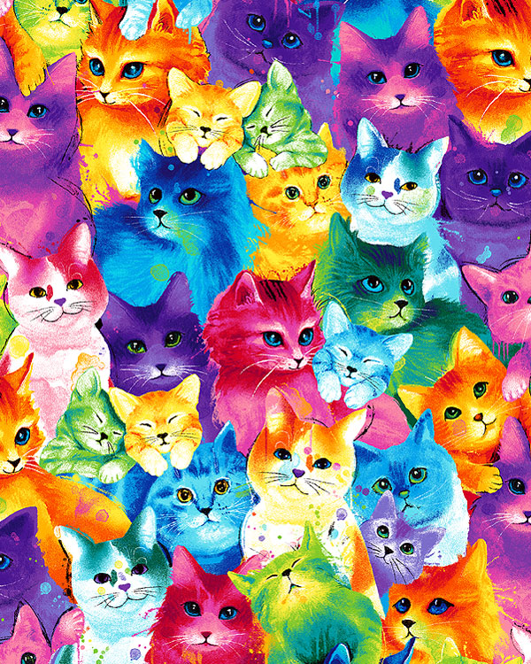 meow za color cats