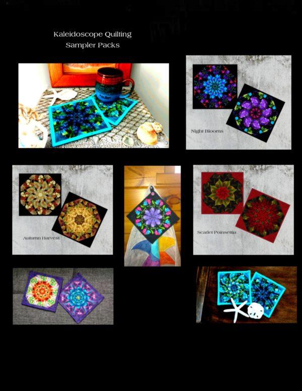 mug rug collage