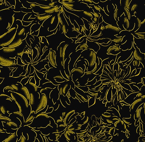 felicity black gold tonal