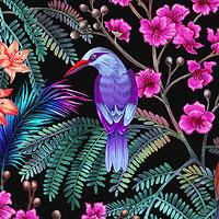 Tropic Gardens Birds