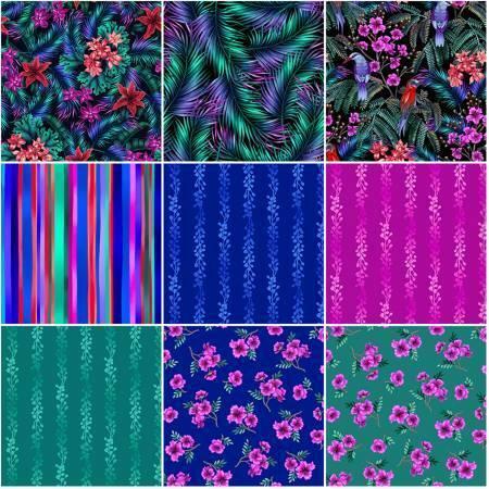 Tropic Garden Fabrics