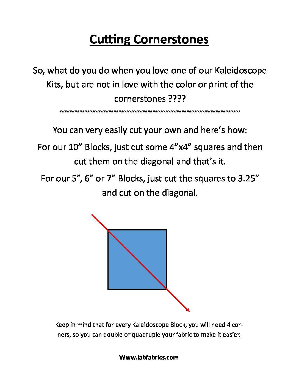 kal quilt block chart