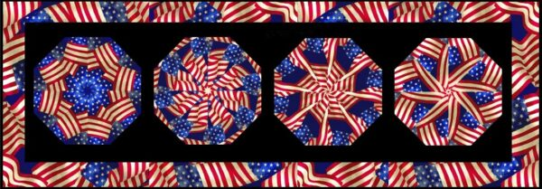 flags table runner 1