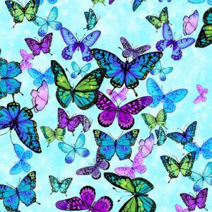 forest magic butterflies