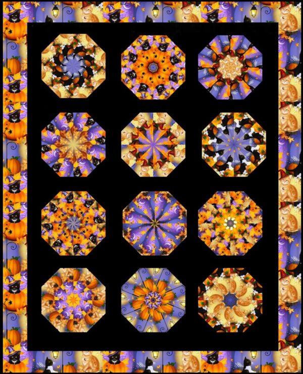 halloween fun quilt